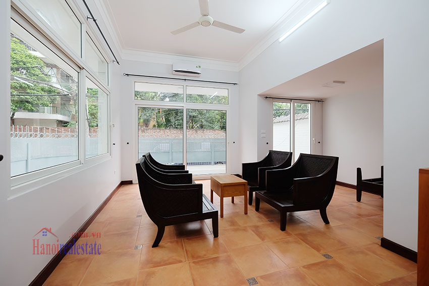 Partly furnished 4-bedroom house on Dang Thai Mai to rent 6