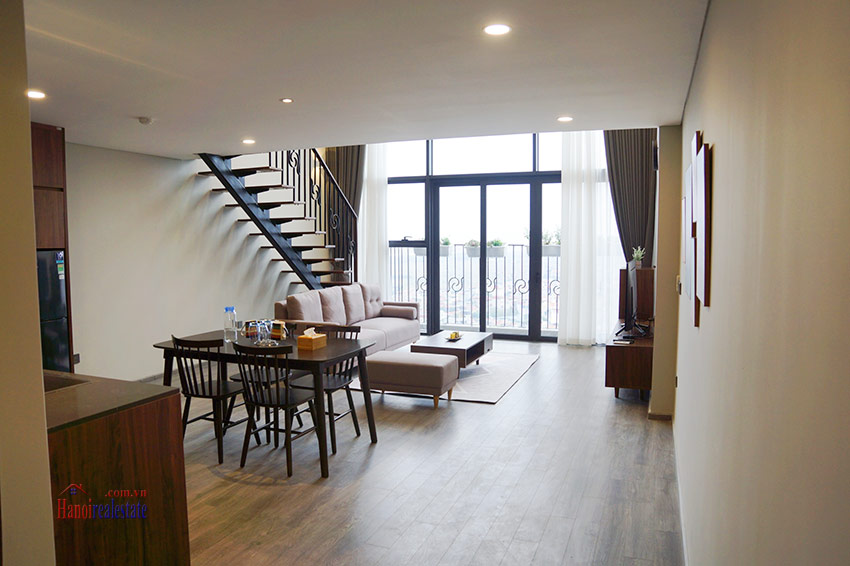 PentStudio: Modern style 01BR duplex on high floor with River view 1