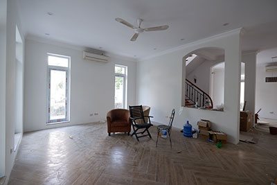 Renovating corner 05BRs villa in T block Ciputra, bright and cozy