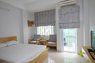 Serviced 1-bedroom apartment for rent in Hoan Kiem, Hanoi