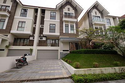 Rental Spacious 05BRs Villa in Q block Ciputra, unfurnished