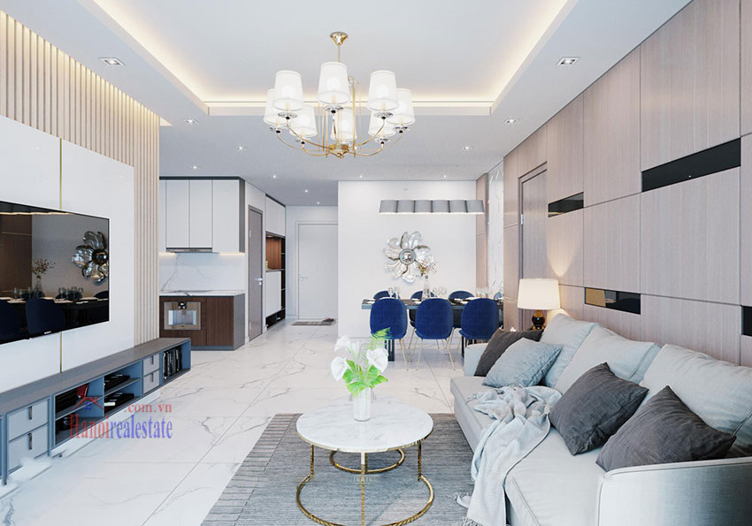 Sunshine City: Stunning fully furnished 03BRs apartment on high floor, balcony 4