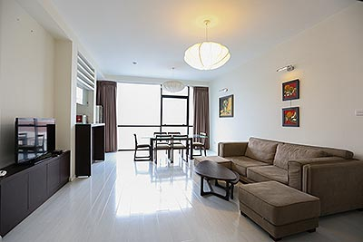Super Larger  02 bedroom apartment on To Ngoc Van Road in quite tranquilation