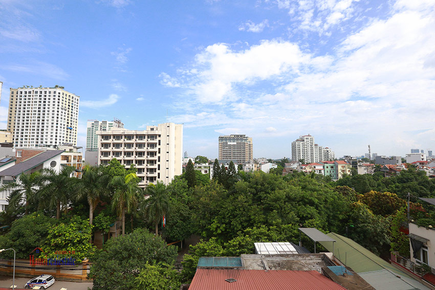 Thien Thai Residence: Elegant 03BRs apartment on Tay Ho Rd, swimming pool 15