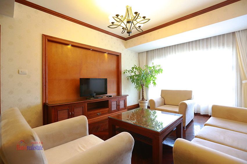 Thien Thai Residence: Elegant 03BRs apartment on Tay Ho Rd, swimming pool 2