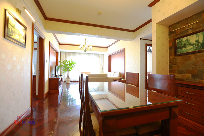 Thien Thai Residence: Elegant 03BRs apartment on Tay Ho Rd, swimming pool 3