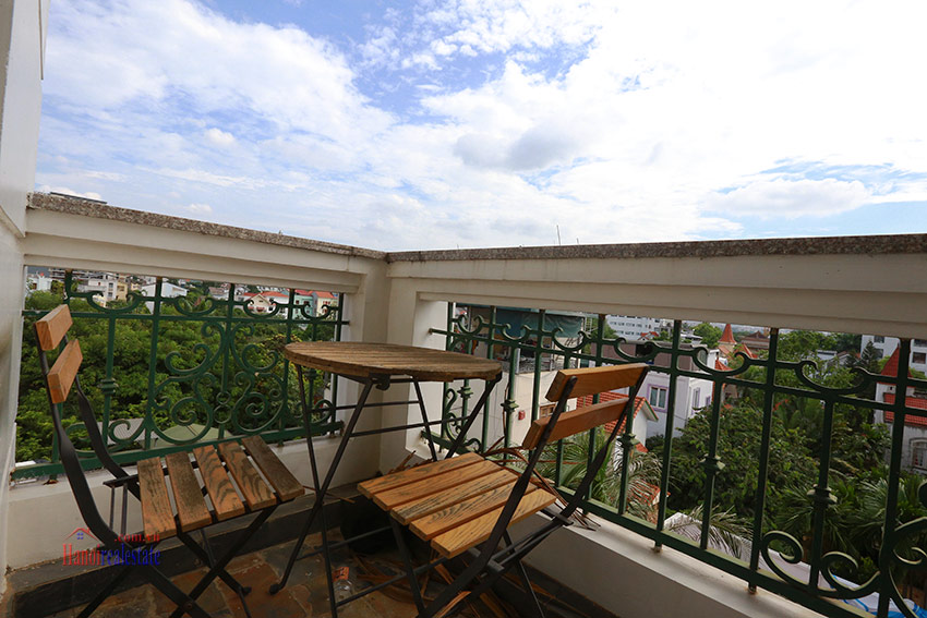Thien Thai Residence: Elegant 03BRs apartment on Tay Ho Rd, swimming pool 6