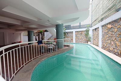 Unfurnished house with swimming pool on To Ngoc Van for rent