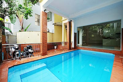 Unfurnished swimming pool house on Dang Thai Mai, Tay Ho