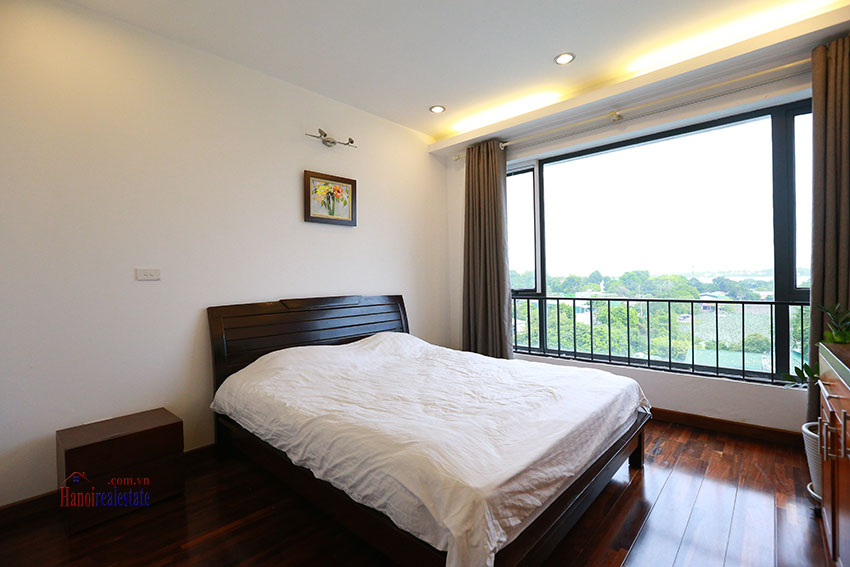 Unlimited view 2 bedroom apartment on and spacious Xom Chua Road, quiet and friendly residence 11