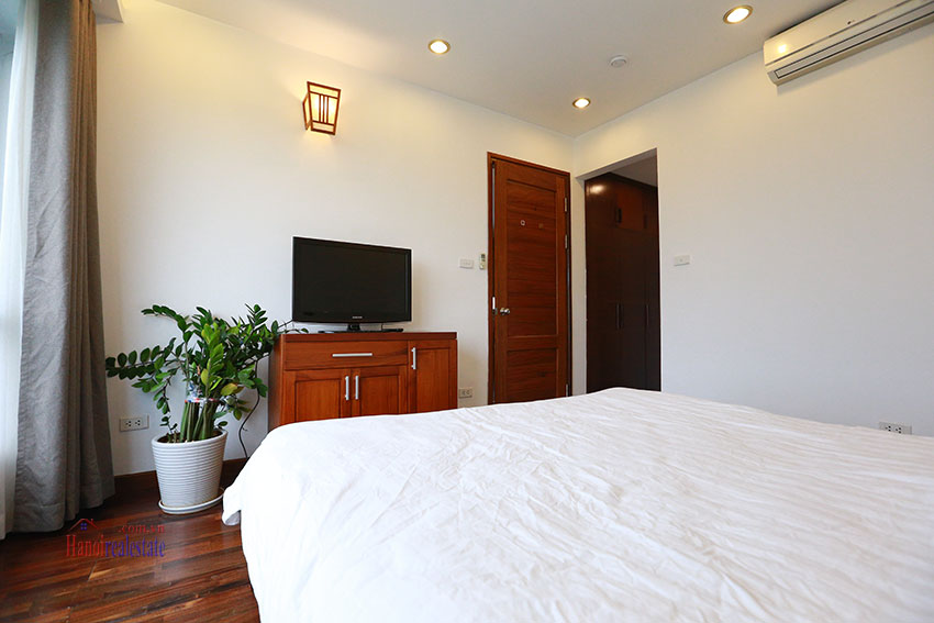 Unlimited view 2 bedroom apartment on and spacious Xom Chua Road, quiet and friendly residence 12
