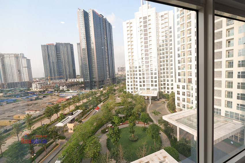 Wonderful 03 bedroom apartment in L Block Ciputra, high floor, quiet and green area 17